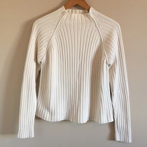 Vintage Cable Knit Turtleneck Sweater